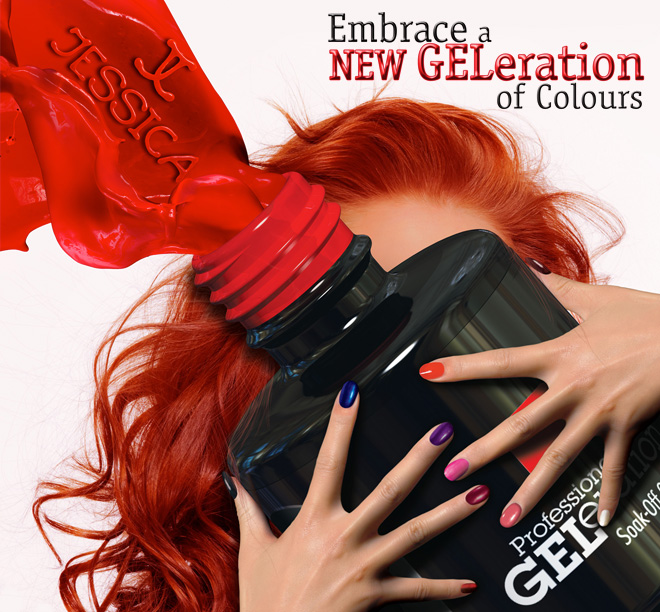 Geleration gel for the natural nails. 01252 725004 The Beauty Suite www.beauty-suite.co.uk